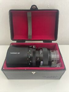 TAMRON SP 1:8 500MM MIRROR LENS 55BB ADAPTALL 2 - Used Twice, Boxed And Mint