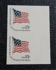 nystamps Us Error Freak Oddity Stamp Mint Og Nh Imperf Error