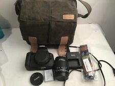 Canon Eos Rebel T5i Digital Camera w/ 18-55mm Stm Is Lens + case Uv filter