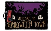 Nightmare Before Christmas (Halloween Town) Paillasson GP85044 Porte Tapis