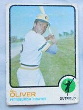1973 Topps Al Oliver Pittsburgh Pirates #225 Baseball Card vg/ex