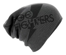 "Foo Fighters ""Logo"" Slouch Cappello Beanie-Nuovo & Ufficiale!"