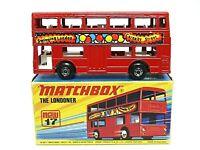 Matchbox Lesney No.17f The Londoner Bus (SWINGING LONDON CARNABY STREET)