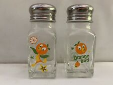 Florida Orange Bird Salt & Pepper Shakers Walt Disney