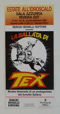 locandina 33x70 LA BALLATA DI TEX 1993 illustrata da Galep