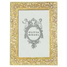 "Olivia Riegel Gold Windsor 4X6"" Photo Frame Rt2736 .New In Box"