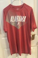 Men's Alabama Crimson Tide Shirt, Large, Red, New With Tags