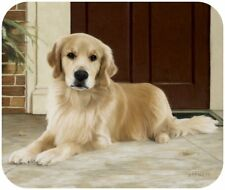 MOUSE PAD--Golden Retriever on Porch by Fiddler's Elbow **Beautiful**