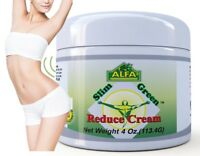 Slim Green Reduce Cream 4Oz. Help the Weight Loss Diet and Fat Burning reductora