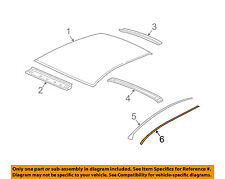 Chevrolet GM OEM 04-12 Malibu-Roof Molding Retainer Strip 22732546