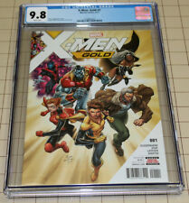 X-Men Gold #1  White Pages CGC 9.8