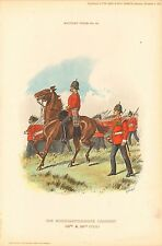 1894 Richard Simkin Military Print, 83 Northamptonshire Regiment (48th & 58th Fo