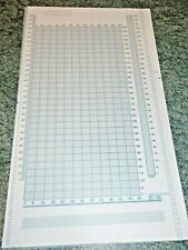 MYLAR with Design Sheet  for Brother Knitting Machine. Very Good Condition