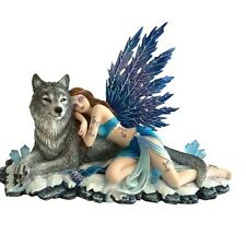 Lupiana - Fairy & Wolf Figurine By Nemesis Now