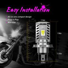 H4 9003 HB2 CSP LED Motorcycle Headlight Bulb HID Hi/Low Beam 6500K High Power