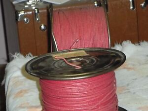 10 FT. coil WESTERN ELECTRIC 20 gauge  CLOTH over PLASTIC over TINNED  COPPER