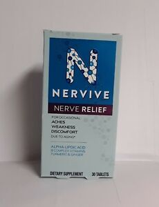 Nervive Nerve Relief For Aches, Weakness & Discomfort Exp.11/22 #5802