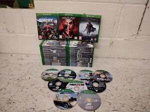36 x Xbox One Games Job Lot - Far Cry Tekken Mordor COD Forza Fallout Doom Fifa