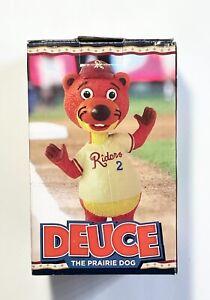 Frisco RoughRiders Deuce Bobblehead Baseball Texas Rangers SGA