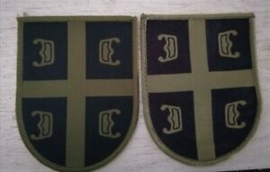 SERBIAN ARMY 2 PATCHES