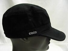Coco - Alize - Negro - Talla Única - Ajustable Cadete Estilo Gorra