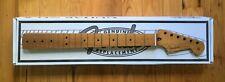 Fender Genuine Roasted Maple 1-Piece Strat Stratocaster Neck, C Profile, 21 Fret
