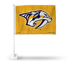 Nashville Predators NHL 11X14 Window Mount 2-Sided Car Flag