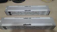 Toner Olivetti B0279 Negro para Olivetti Copia 9920 Original. Lote de 2 tóner.