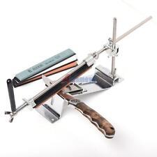 DIY Home Kitchen Sharpening Stone Kit Scissor Knife Blade Sharpener With 4 Stone