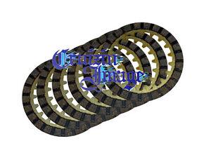 91-01 YAMAHA YFM80 BADGER CLUTCH PLATES SET 6 FRICTION PLATES CD2303