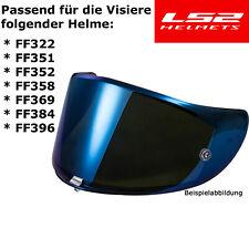 LS2 Visier BLAU-VERSPIEGELT für Helm FF351 / FF352 / FF369 / FF384
