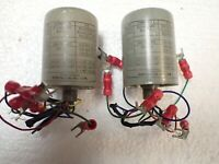 Pair Of 1940s 1950s Triad Pre-Amplifier Vintage Audio Transformers Line To Mic !