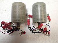 2 Triad A-61J Pre-Amplifier Vintage Audio Transformers Line To Line Vintage !