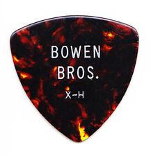 Vintage Bowen Brothers Brown Faux Tortoise Tour Guitar Pick