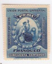 Peru,Scott#139,50c,MH,Scott=$10