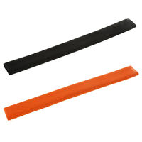 2Pcs Rubber Pool Cue Handle Grip Non Slip Textured Heat Shrink Tubing Sleeve
