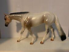 Prairie Prince - Peter Stone Model Horse - Light Roan Pearl - #9665 - 2000