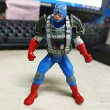 """3.75"""" Marvel Universe Captain America In Armored Suit Boy Toy Collection Rare"""