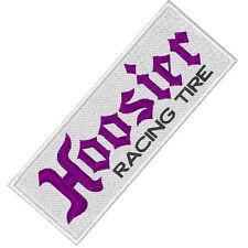 Rally und Racing-Fan Aufnäher Hoosier Racing Tire 10 x 3,7 cm cm