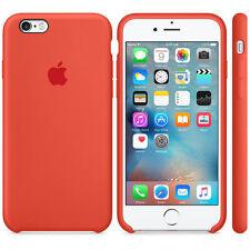 OEM Original Silicone Case For Apple IPhone 8 Plus X 7 6 5 5S SE Genuine Cover