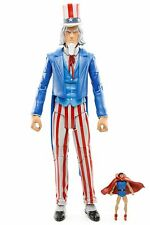 "DC Universe Signature Collection UNCLE SAM WITH DOLL MAN 6.25"" Action Figure"