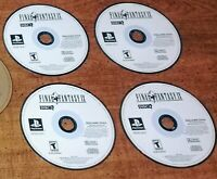 -Final Fantasy IX Sony PlayStation 1 PSX All Discs Tested Fast Shipping