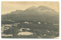 Unused pre 1917 POSTCARD Photo Russian Zheleznovodsk City Town TRAIN in forest