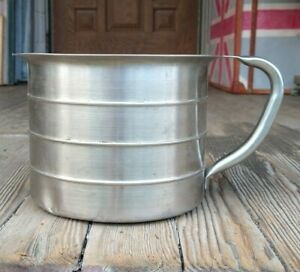 4 Quart Stainless Steel Urn Cup