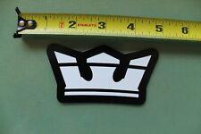 SUPRA Skateboard Shoes Crown Nike Clothing Z12 Vintage Skateboarding STICKER