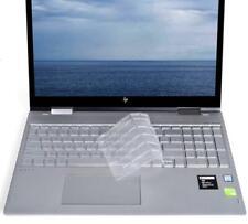 Ultra Thin High-Grade TPU Clear Keyboard Cover for 2018 New HP Envy x360 15.6...