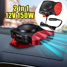 Red 2 in1 Car Portable Ceramic Heating Cooling Heater Fan Defroster Demister