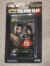 Sealed Retal Walking Dead Trading Cards Blister Pack Season 3 Part 2
