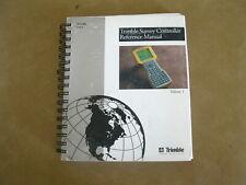 Trimble Survey Controller Reference Manual Tsc1