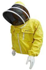 Yellow Beekeeing Jacket Fence Veil / 260GSM / Size Medium